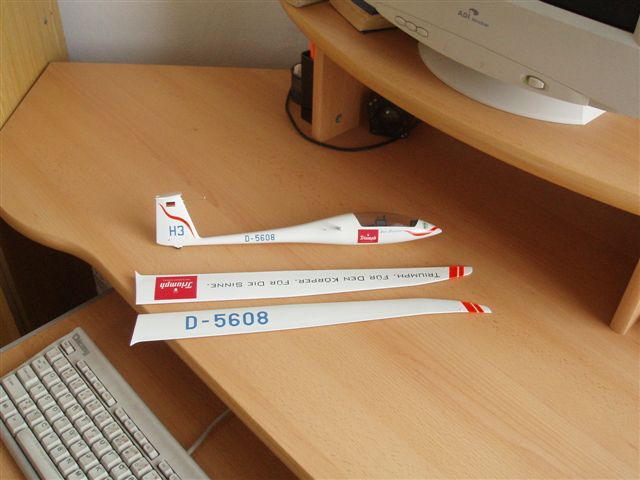 What Is A Glider Kit >> Cumulus Soaring, Inc.- HPH Models