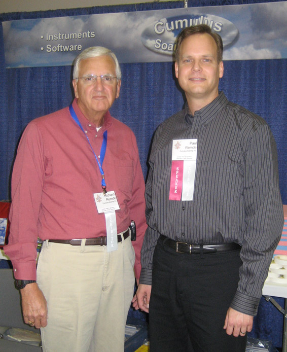 I owe much thanks to the many volunteers that helped me at the convention.  First I must thank my wonderful Dad, Richard Remde.