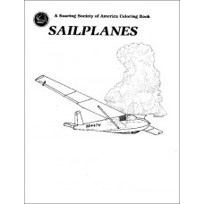 SSA Sailplanes Kids Coloring Booklet