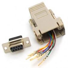 Adapter-RJ45-DB9f