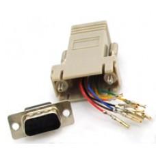 Adapter-RJ45-DB9m