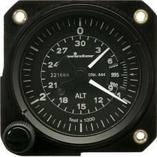 W-4445, WInter, Altimeter, Model: 4FGH 20, 30,000 feet, inHg, 2-pointer
