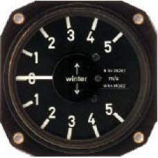 W-5251, Winter, Mechanical Variometer, 80mm, 5 m/s