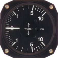 W-5352, Winter, Mechanical Variometer, Logarithmic, Sensitive, 80mm, 1000 ft/min