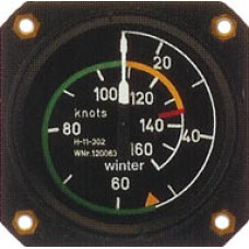 W-7423, Winter, Airspeed Indicator, Model: 7 FMS 423 - Most Popular