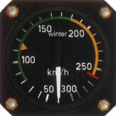 W-7512, Winter, Airspeed Indicator, Model: 7 FMS 512