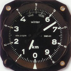 W-4011, Winter, Altimeter Scale Ring, 80 mm