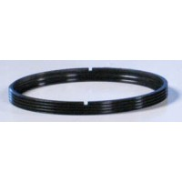 W-9032, Winter, Bezel ring, Grooved, 57 mm, for use with MacCready ring